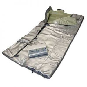 FIR-Real Sauna Blanket w/ 3 Zones + Sample Concentrace Trace Minerals Picture