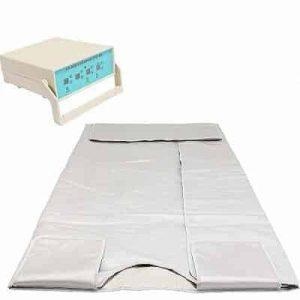 BestEquip Infrared Blanket 3 Heating Zone 110V 660W Infrared Sauna Weight Lose Spa Detox Sauna Blanket