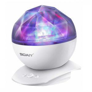 Soaiy Aurora Night Light Projector Lights