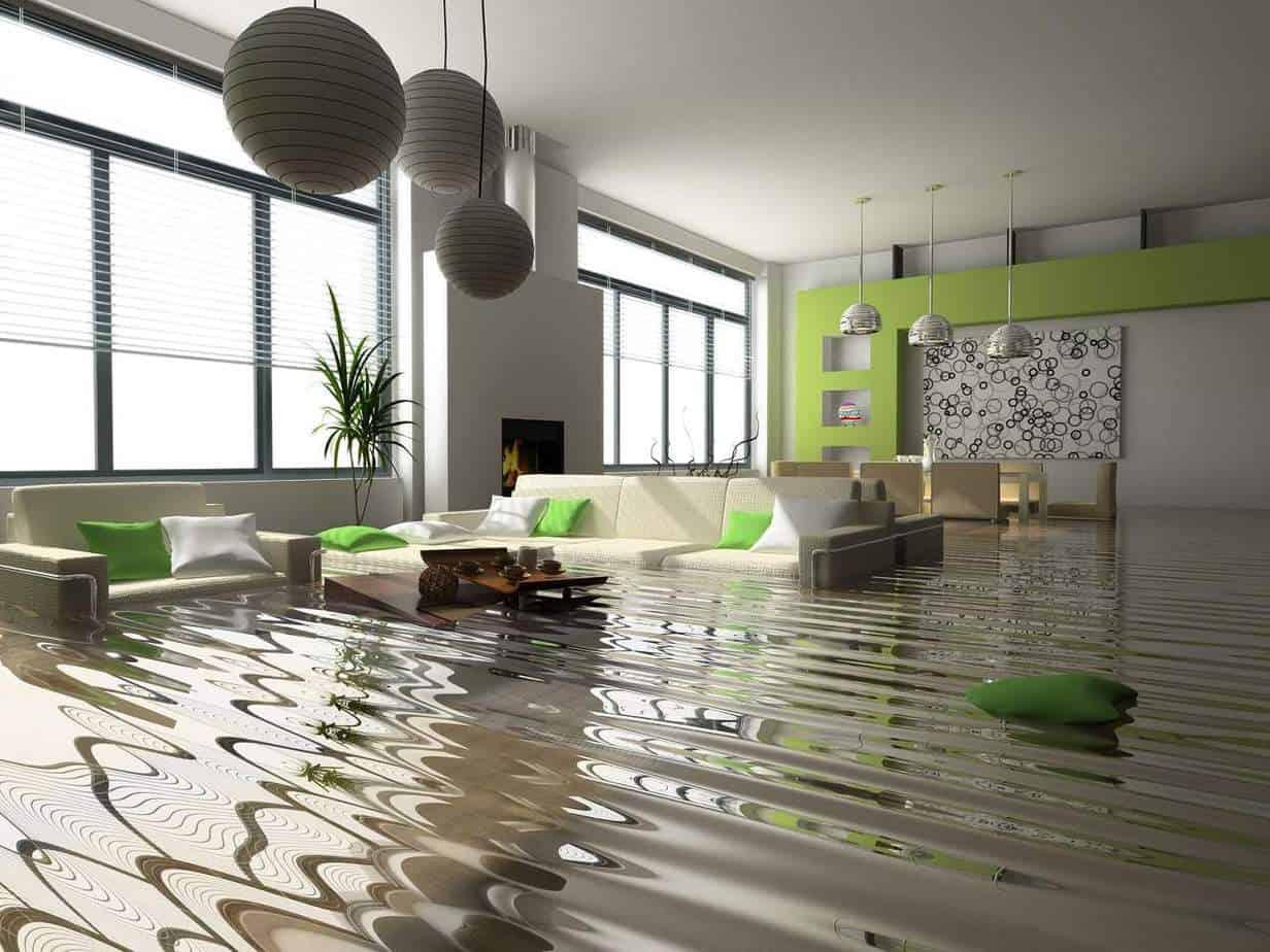 Flooded basement Image