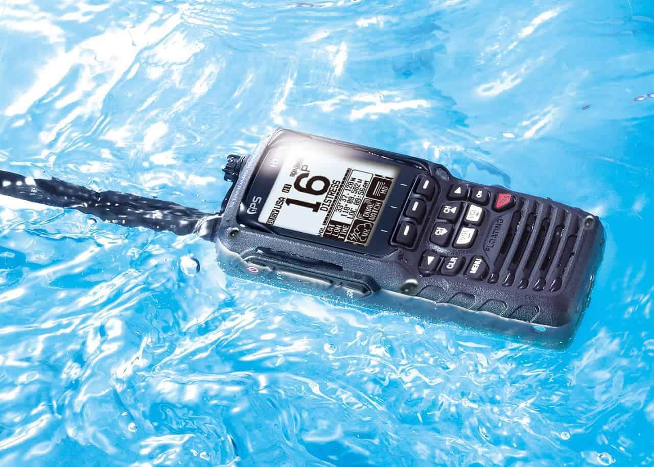 Handheld VHF Radio Picture