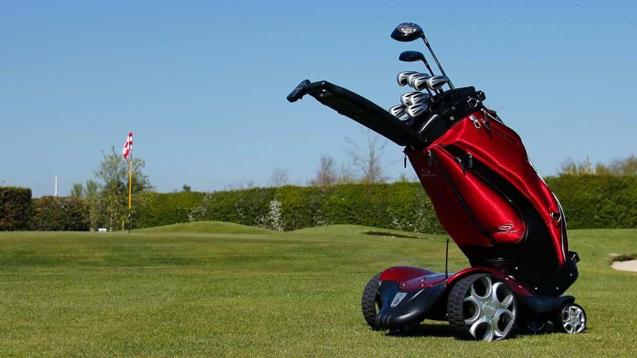 Electric golf cart Image