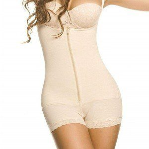 YIANNA Seamless Firm Control Open Bust Image