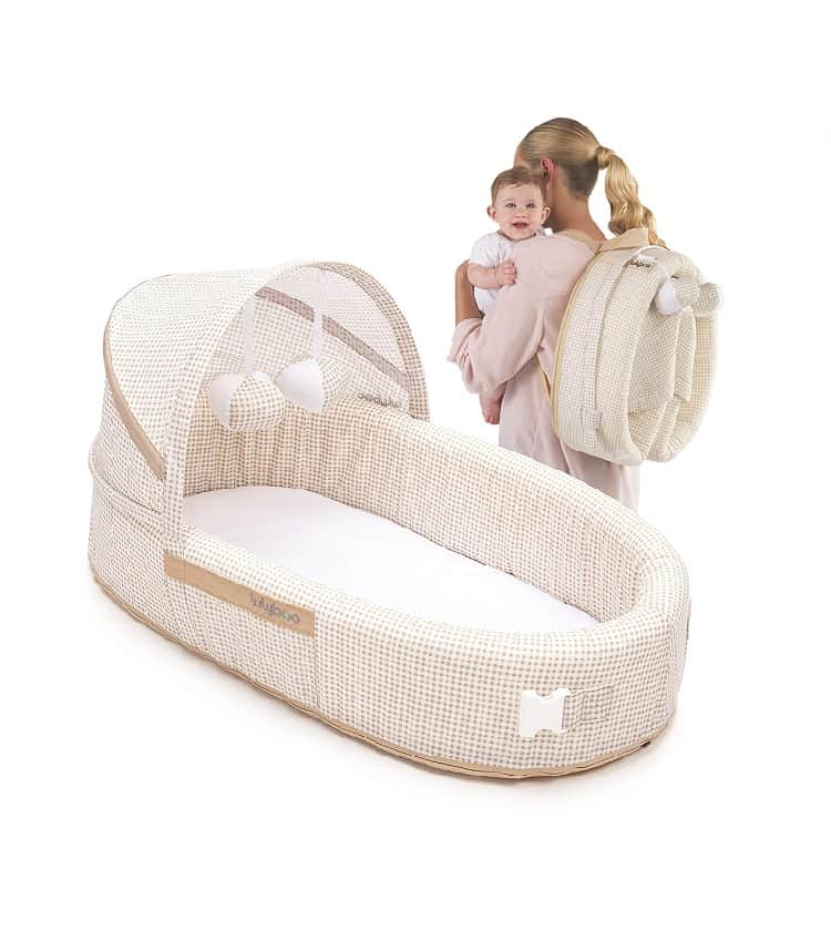 LulyBoo Bassinet To-Go BLF N 001