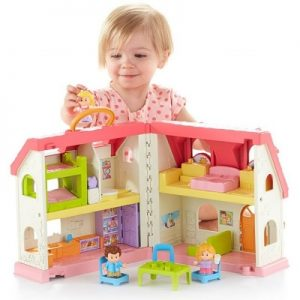 Fisher-Price Little People Surprise & Sounds Home Image