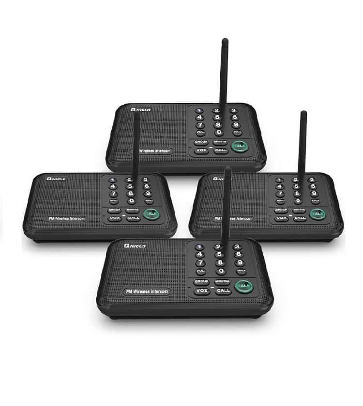 Qniglo Wireless Intercom System