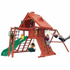 Gorilla Playsets Sun Palace Cedar II