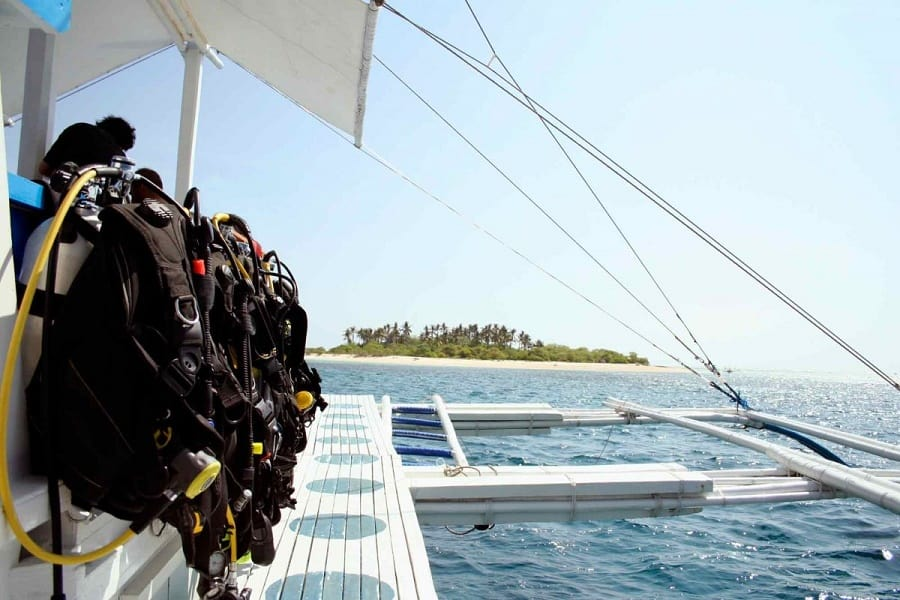 Picture of BCD scuba jackets aligned