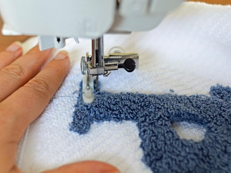Monogramming Sewing Machine Picture