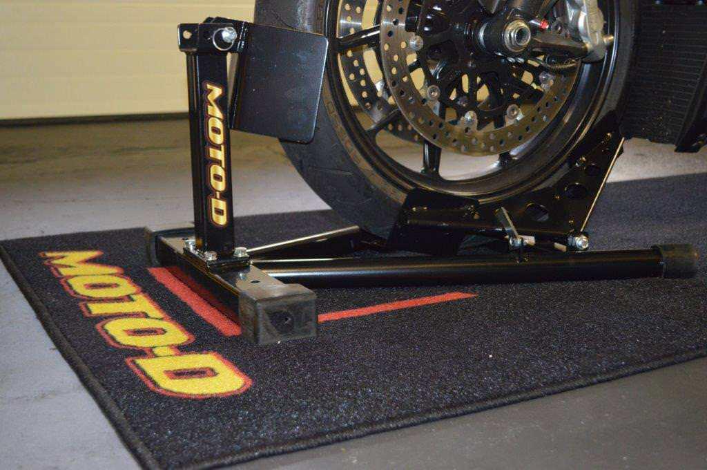 Motorcycle wheel chock Image